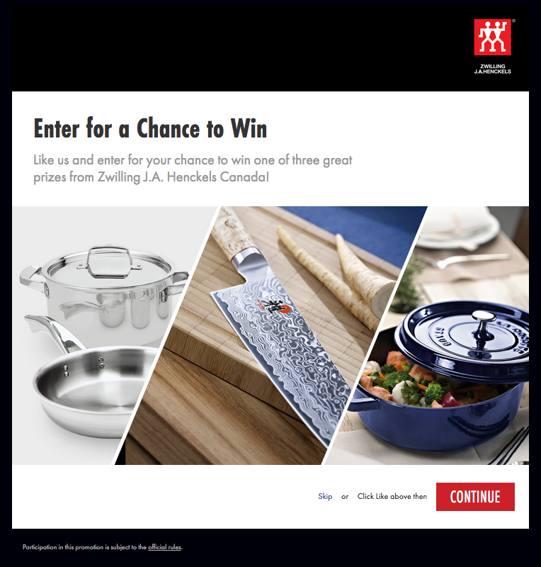Zwilling EAT! Vancouver Contest
